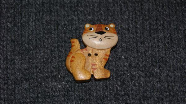 Holz Kätzchen